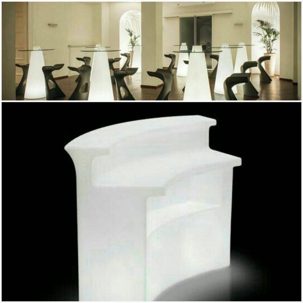 میز بار سه تیکه - هر تیکه 1